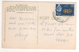 Beau Timbre  Sur Cp , Carte , Postcard Du 26/04/1968 ?? - Fiji (1970-...)