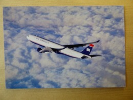 US AIRWAYS   AIRBUS A 330   /   AIRLINE ISSUE / CARTE COMPAGNIE - 1946-....: Era Moderna