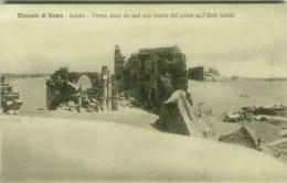 SYRIA - HOMS - LEBDA - TERME VISTA DA SUD CON ROVINE DEL PONTE SULL'UDDI LEBDA - EDIT ALTEROCCA - 1910s (BG4802) - Syria