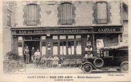 SAINT - ERME  --  Bar Des Amis  (  Environs De Sissonne) - Sissonne
