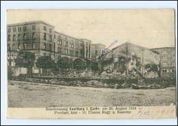 Y14180/ Saarburg In Lothr. Beschießung  11. Ulanen-Regiment-Kaserne AK 1914 - Lothringen