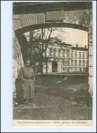 Y14177/ Mitau Schloßhof Lettland 1. Weltkrieg AK Ca.1915 - Lettland