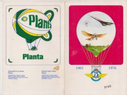 Aviation  Gosselies 1976 - Programmes
