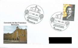 ESPAÑA. POSTMARK SAN FRANCISCO CONVENT. BENICARLO. 2017 - España