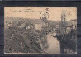 """15. Allanche. Les Rives De L'allanche. Carte """"molle"""" Qui A Pris L'eau - Allanche"""