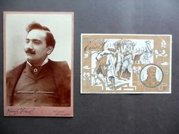 Autografo Enrico Caruso Firma Cartolina Elisir D'Amore Ricordi Fotografia 1901 - Autografi