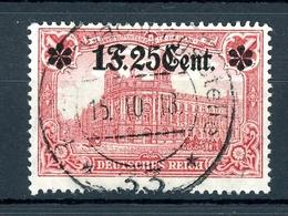 Dt. Besetzung WK I Etappengebiet West MiNr. 11 II Vollstempel Geprüft (F193 - Occupation 1914-18