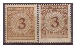DR: 1923, Nr. 338 P A+b, Falz - Deutschland
