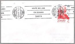 VISITE MALAGA EN SEMANA SANTA - Visit Malaga During Holy Week. Malaga, Andalucia, 1979 - Vacaciones & Turismo