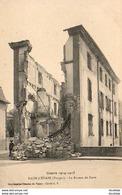 MILITARIA  GUERRE 1914- 18  RAON- L' ETAPE  Le Bureau De Poste  .... - Guerre 1914-18