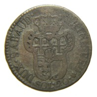 [NC] SAVOIA - VITTORIO AMEDEO III - 20 SOLDI 1796 (nc4577) - Regional Coins