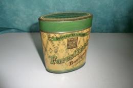 BOURGES CHER  18. ANCIENNE BOITE TOLE. G.TAVERNIER. MAISON DES FORESTINES Fondées En 1825. Confiseur. - Boîtes