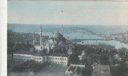 *** TURQUIE ***  CONSTANTINOPLE  Mosquée Suleiman Et Corne D'or  écrite TTBE - Turquie