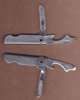AC -  TURKIYE PETROLLERI TURKISH PETROLEUM CORPORATION VINTAGE POCKET KNIFE & BOTTLE OPENER - Strumenti