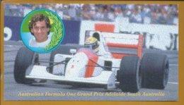 Ayrton Senna Won The 1993 Australian Formula 1 Grand Prix. Ayrton Senna Gewann 1993 Den Großen Preis Australischen F1.2s - Cars