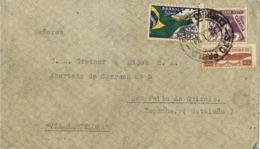 34254. Carta Aerea SAO PAULO (Brasil) 1934 A España, San Feliu De Guixols (Gerona) - Brazil