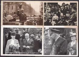 Czechoslovakia 12 Postcards With President Benes - Hommes Politiques & Militaires