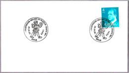 Matasellos III EXP. ABULENSE DE FILATELIA. MENSAJERO POSTAL - Postal Messenger. Avila 1983 - Correo Postal
