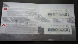 Greenland - Denmark Joint Issue Literary Expedition 2003 (folder Set) MNH *both Country Ms - Groenland