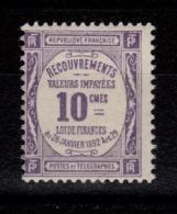 Taxe YV 44 N** Cote 3 Euros - 1859-1955 Neufs