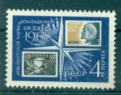 URSS 1968 - Y & T N. 3403 - Journée Du Timbre Et Du Collectionneur - 1923-1991 USSR