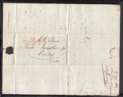 France 1822 - Précurseur De Villefranche-sur-Saône à Limoux  (VG) DC-4276 - Marcofilia (sobres)
