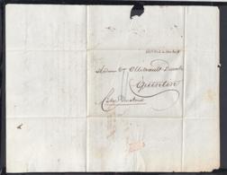 France 1825 - Précurseur De Marseille à Quintin   (VG) DC-4281 - Marcofilia (sobres)