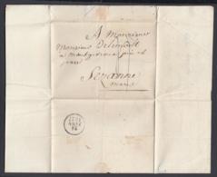 France 1827 - Précurseur De Paris à Sézanne   (VG) DC-4284 - Marcofilia (sobres)
