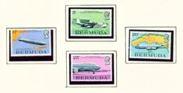 BERMUDA  -  1975 Air Mail Service Set Unmounted/Never Hinged Mint - Bermuda