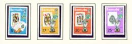 BERMUDA  -  1975 Bridge Championships Set Unmounted/Never Hinged Mint - Bermuda