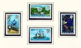 BERMUDA  -  1976 Biological Station Set Unmounted/Never Hinged Mint - Bermuda
