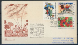 Italie 1979 IYC AIE FDC Capitolium Roma Filatelico - Childhood & Youth
