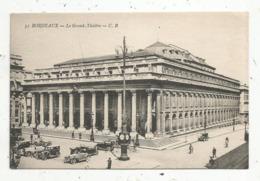 Cp, 33,BORDEAUX , Le Grand Théâtre,  Vierge - Bordeaux