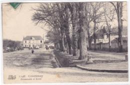 Loiret - Courtenay - Promenade Et Ecole - Courtenay