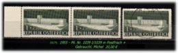 Österreich - Mi. Nr: 1039 / 1039 I - In Postfrisch + 1039 In Gebraucht - 1945-.... 2. Republik