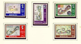 BERMUDA  -  1979 Antique Maps Set Unmounted/Never Hinged Mint - Bermuda