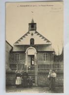 C. P. A. : 62 WANQUETIN : Le Temple Protestant, Animé, En 1914 - Andere Gemeenten