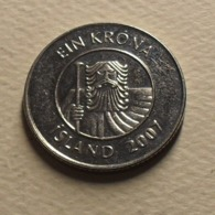 1999 - Islande - Iceland - 1 KRONA - KM 27a - Islanda