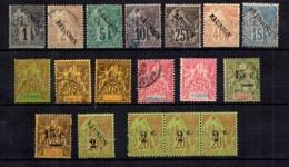 Réunion Belle Petite Collection D'anciens 1891/1901. Bonnes Valeurs. B/TB. A Saisir! - Neufs