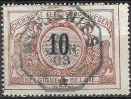 C2.81: MOMIGNIES. Télégraphe - Chemins De Fer