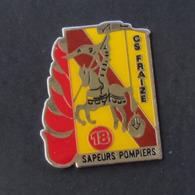 1 Pin's Sapeurs Pompiers De FRAIZE (VOSGES - 88) - Pompiers