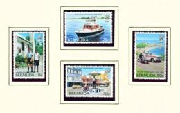 BERMUDA  -  1979 Police Set Unmounted/Never Hinged Mint - Bermuda