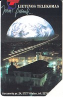 LITHUANIA(Urmet) - Earth, Satellite Communications, Used - Spazio