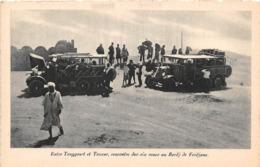 TUNISIE - Expédition Renault - Entre Touggourt Et Tozeur, Rencontre Des Six Roues Au Bordj De Ferdjane - Tunisie