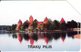 LITHUANIA(Urmet) - Traku Pilis, First Issue 200 Units, Tirage 30000, Used - Landschaften