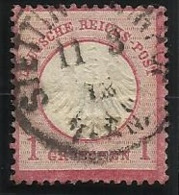 Allemagne N° 4 Oblitéré De 1872 - Allemagne