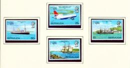 BERMUDA  -  1980 London 80 Stamp Exhibition Set Unmounted/Never Hinged Mint - Bermuda