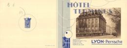 DEPLIANT  69  LYON HOTEL TERMINUS - Lyon