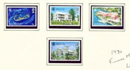 BERMUDA  -  1980 Finance Ministers Meeting Set Unmounted/Never Hinged Mint - Bermuda