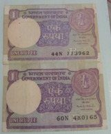 1994 X 2........India Inde Notes.. - Indien
